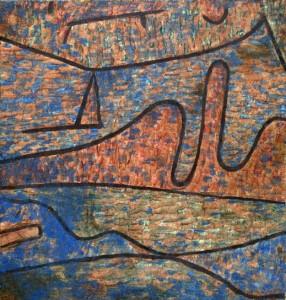 Klippen im Fahrwasser1939, 668, Paul Klee