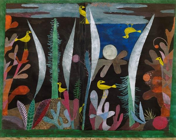 Landschaft mit gelben Vögeln1923, 32, Paul Klee