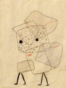 beladene Kinder1930,108, Paul Klee