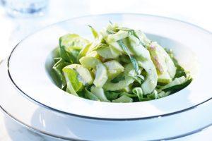Apfel Gurken Salat