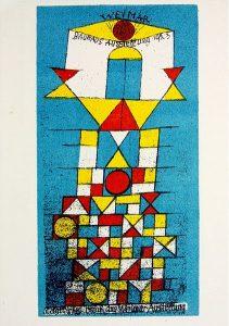Bauhaus Karte Ausstellung 1923,47
