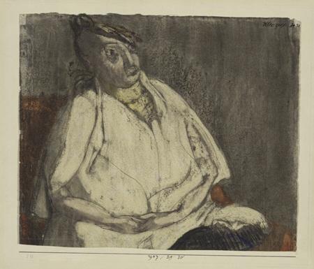 Bildnis einer Frau 1907,30