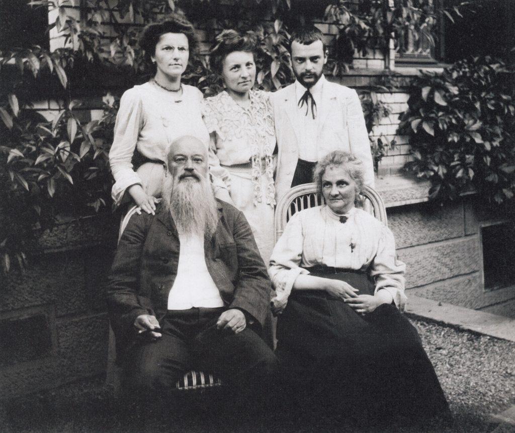 Familie Klee September 1906, Bern