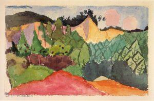Im Steinbruch, 1913, 135