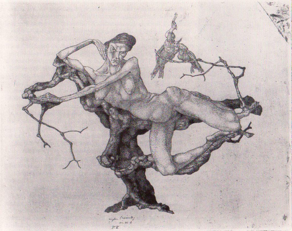 Jungfrau im Baum 1903,2