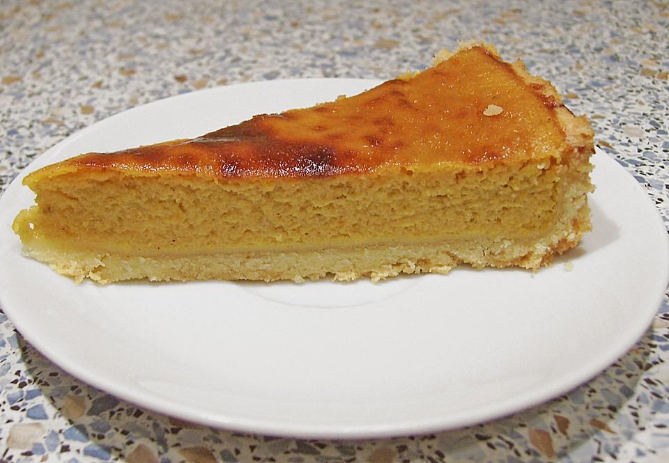 Kürbis-Pie, süss