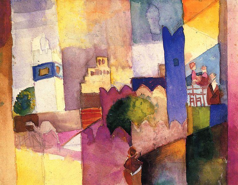 Kairouan (III), 1914