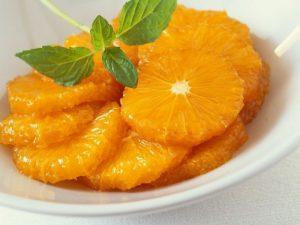 Marinierte Orangen