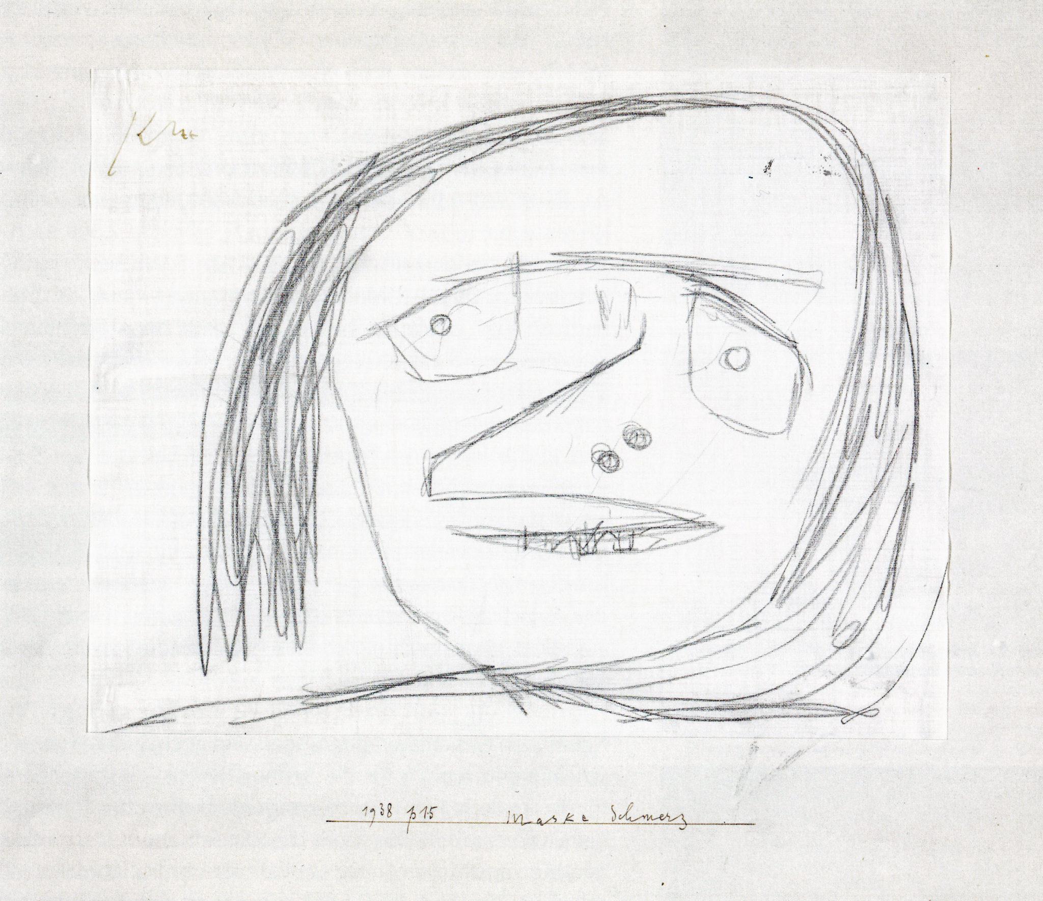 Maske Schmerz, 1938, 235 (P 15)