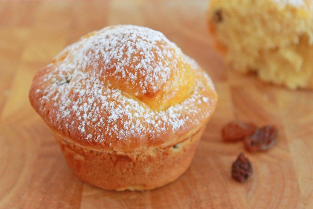 Rosinenmuffins