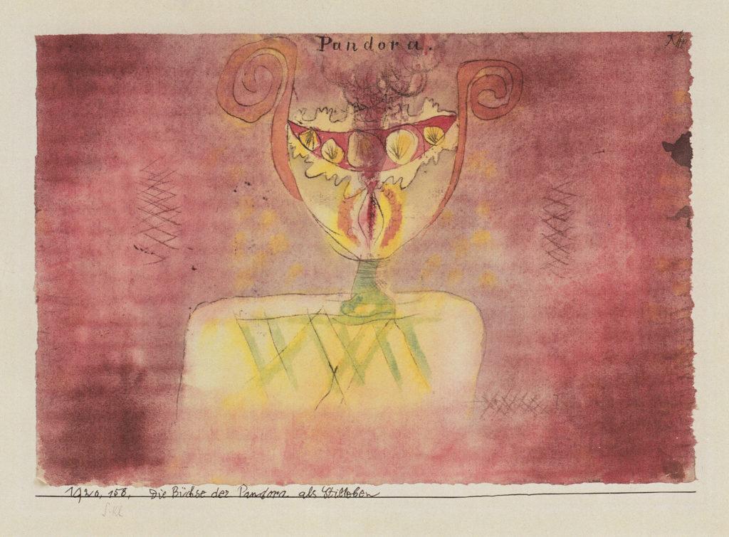 Die Büchse Pandora als Stilleben, 1920,158
