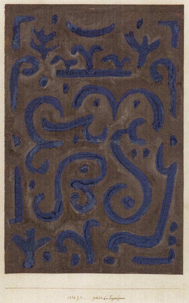 Gedicht bei Tages-Grauen, 1938,83