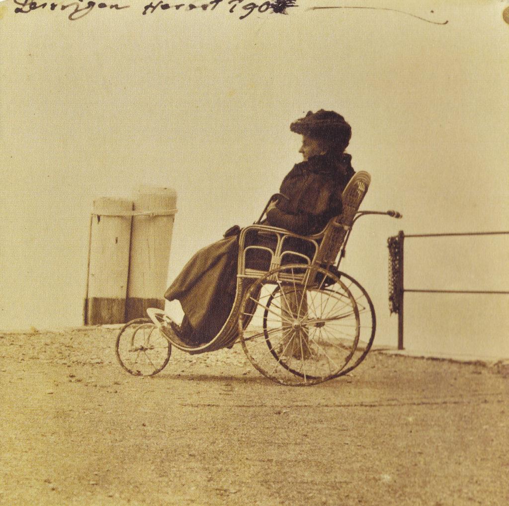 Ida Maria Klee in Leissigen am Thunersee, 1902, Foto Paul Klee