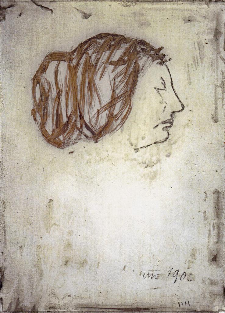 kleines Erinnerungsbild Lily, 1905,21
