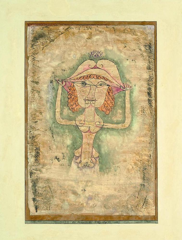 Die Sängerin L. als Fiordiligi, 1923,39