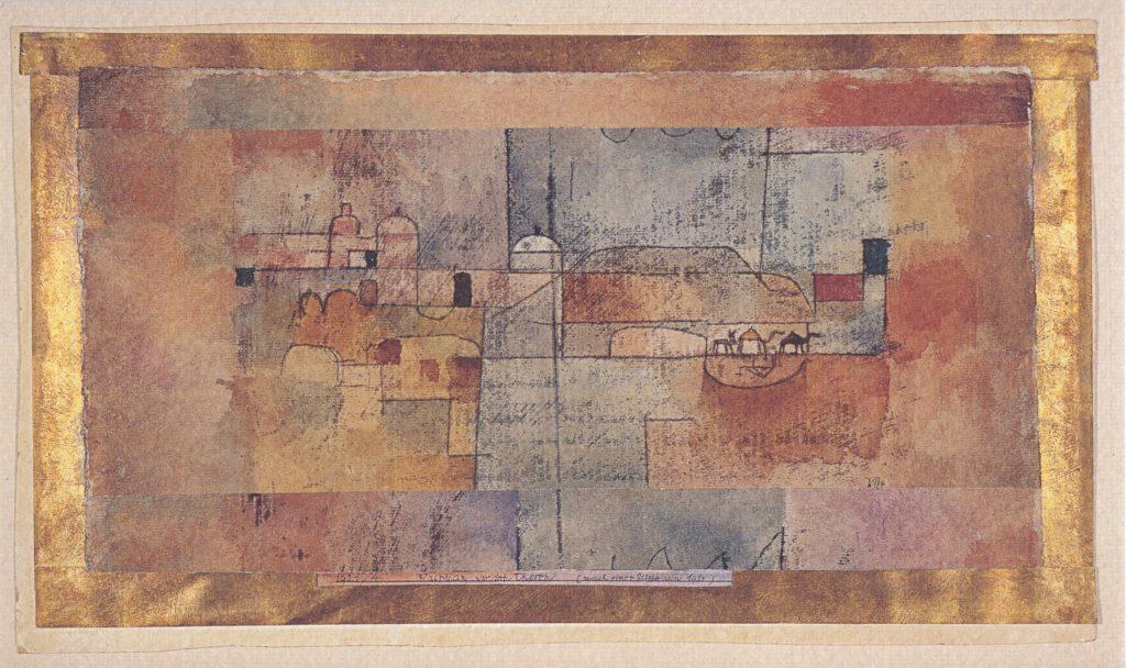 Kairuan, vor den Thoren (nach eine Skizze von 1914), 1921,4