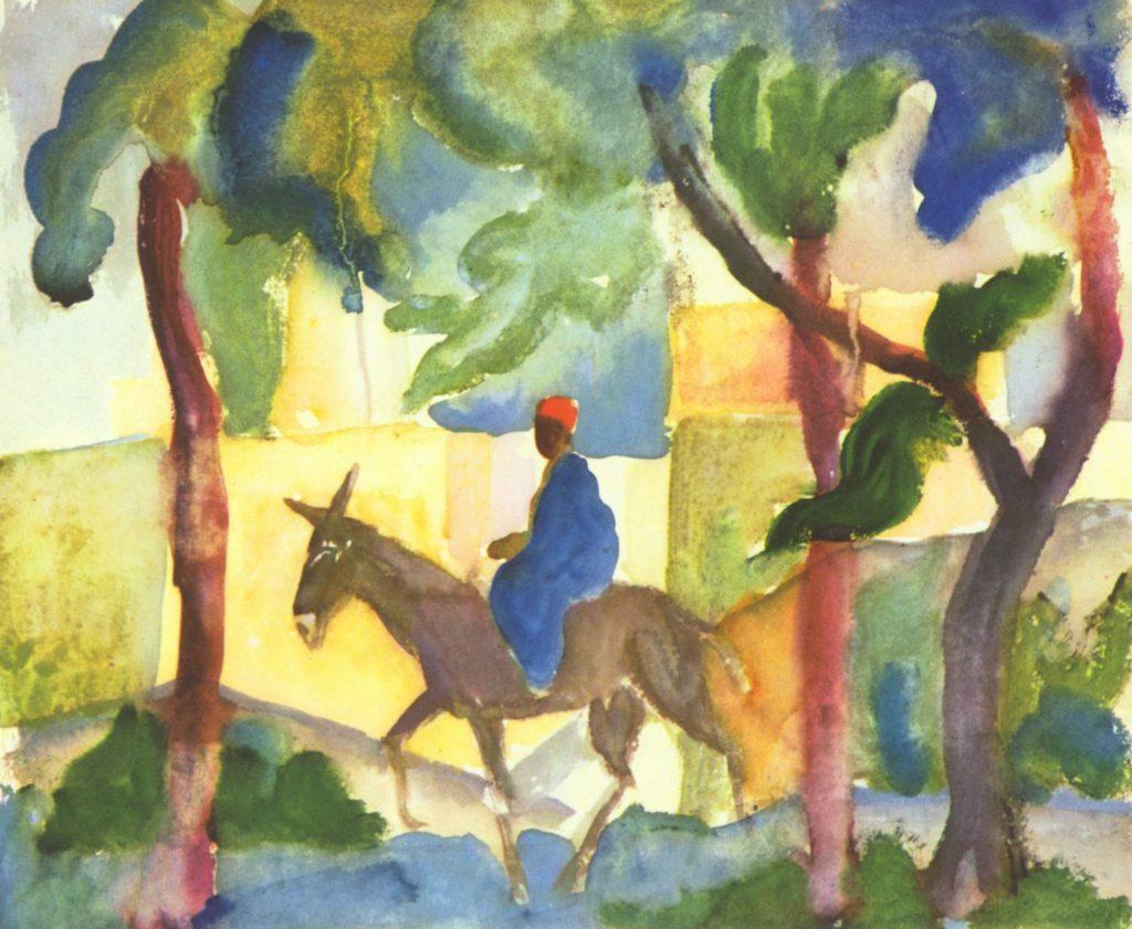 Eselreiter, 1914