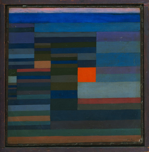 Feuer abends, 1929,95 (S 5)
