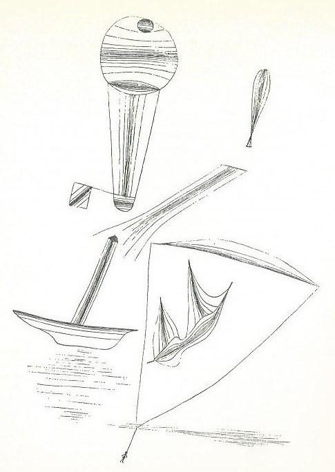 In der Luft über dem Wasser, 1928