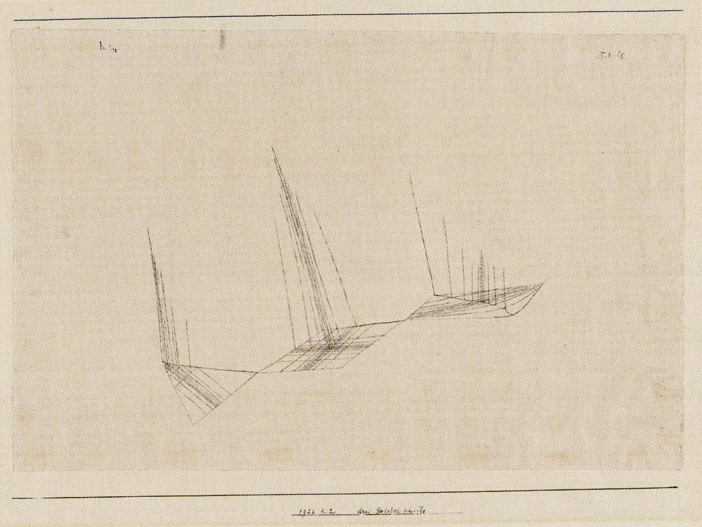 drei Geisterschiffe, 1928,12 (K 2)