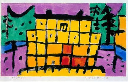 Gelbes Haus II, 1940,366 (E 6)