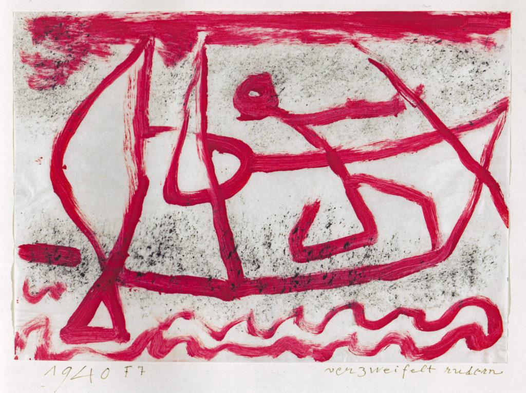 verzweifelt rudern, 1940,347 (F 7)